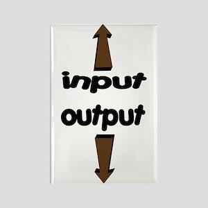 Input Output Rectangle Magnet