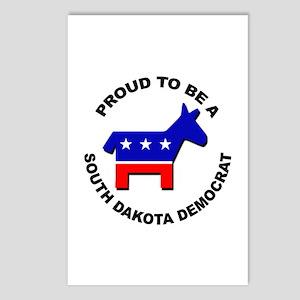 Proud South Dakota Democr Postcards (Package of 8)