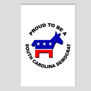 Proud South Carolina Demo Postcards (Package of 8)