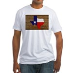Great Texas v1 Fitted T-Shirt