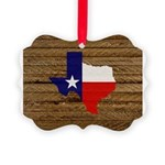 Great Texas v1 Picture Ornament