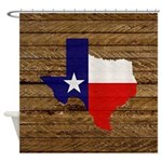 Great Texas v1 Shower Curtain
