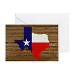 Great Texas v1 Greeting Card