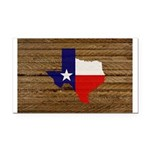 Great Texas v1 Rectangle Car Magnet