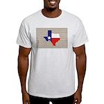 Great Texas Flag v2 Light T-Shirt