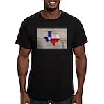 Great Texas Flag v2 Men's Fitted T-Shirt (dark)