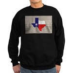 Great Texas Flag v2 Sweatshirt (dark)