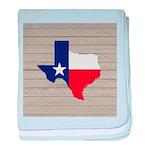 Great Texas Flag v2 baby blanket