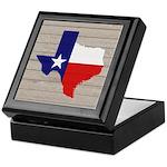 Great Texas Flag v2 Keepsake Box