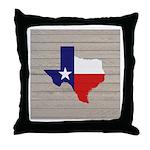 Great Texas Flag v2 Throw Pillow