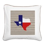 Great Texas Flag v2 Square Canvas Pillow