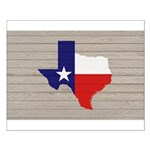 Great Texas Flag v2 Small Poster