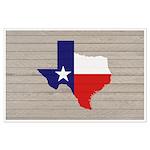 Great Texas Flag v2 Large Poster