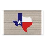 Great Texas Flag v2 Sticker (Rectangle 10 pk)