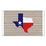 Great Texas Flag v2 Sticker (Rectangle 50 pk)