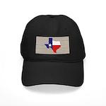 Great Texas Flag v2 Black Cap