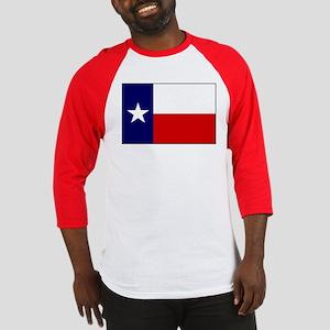 Texas Flag v3 Baseball Jersey