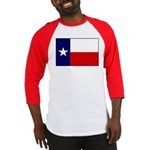 Texas Flag v3 Baseball Jersey