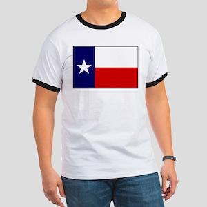 Texas Flag v3 Ringer T
