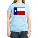 Texas Flag v3 Women's Light T-Shirt