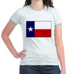 Texas Flag v3 Jr. Ringer T-Shirt