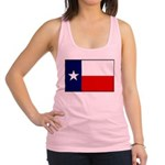 Texas Flag v3 Racerback Tank Top
