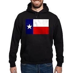 Texas Flag v3 Hoodie (dark)