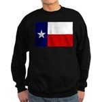 Texas Flag v3 Sweatshirt (dark)