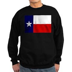 Texas Flag v3 Sweatshirt (dark)