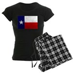 Texas Flag v3 Women's Dark Pajamas