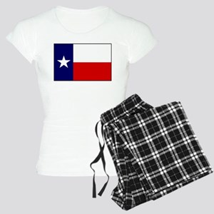 Texas Flag v3 Women's Light Pajamas