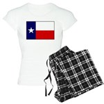 Texas Flag v3 Women's Light Pajamas