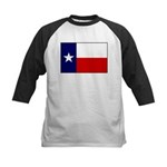 Texas Flag v3 Kids Baseball Jersey