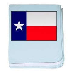 Texas Flag v3 baby blanket