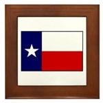 Texas Flag v3 Framed Tile