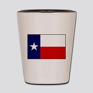 Texas Flag v3 Shot Glass