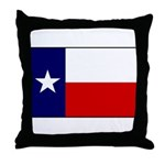 Texas Flag v3 Throw Pillow