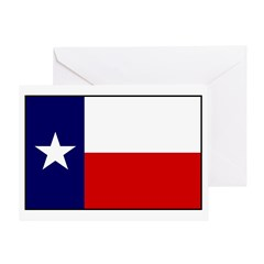 Texas Flag v3 Greeting Card