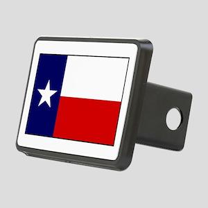 Texas Flag v3 Rectangular Hitch Cover