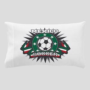 Mexico Soccer Ball Pillow Case