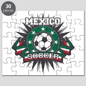 Mexico Soccer Ball Puzzle