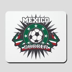 Mexico Soccer Ball Mousepad