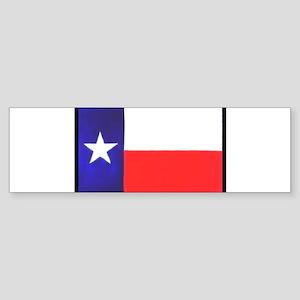 Texas Flag v4 Sticker (Bumper)