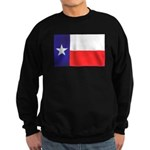 Texas Flag v4 Sweatshirt (dark)