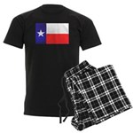 Texas Flag v4 Men's Dark Pajamas