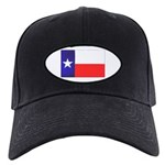 Texas Flag v4 Black Cap