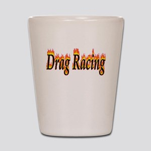 Drag Racing Flame Shot Glass