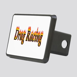 Drag Racing Flame Hitch Cover