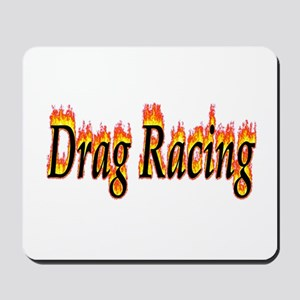 Drag Racing Flame Mousepad