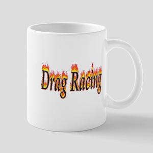 Drag Racing Flame Mugs